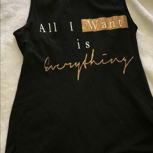 🖤✨All I want is everything tank top!